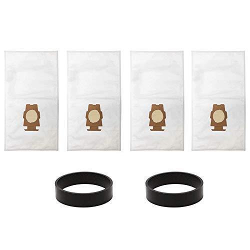 NICERE Recambios de aspiradora 6 piezas bolsa de polvo Partes de aspirador para Kirby Sentria 204808/204811 universal G10, G10E bolsas de polvo