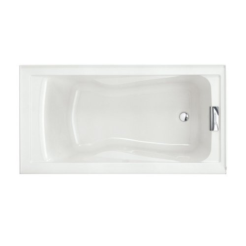 American Standard 2422V002.020 Evolution 5 ft. x 32 in. Deep Soaking Tub with Reversible Drain, White