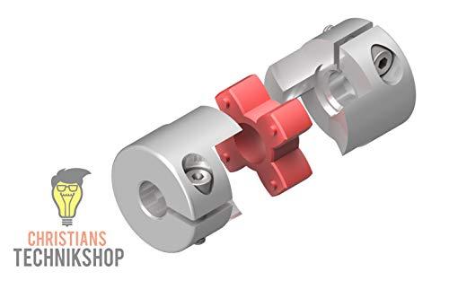 Wellenkupplung 30mm 12,5NM 12mm / 14mm   z.B für CNC,Schrittmotoren,etc