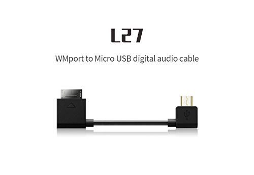 FiiO l27 wmport to Micro USBデジタルオーディオケーブル