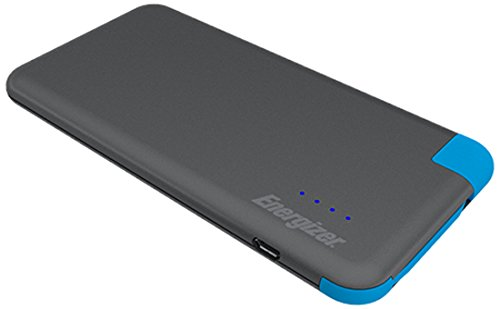 Energizer Powerbank HighTech voor smartphone, tablet, fitnesstracker, camera, bluetooth luidspreker, enz, 4000 mAh, grijs/blauw