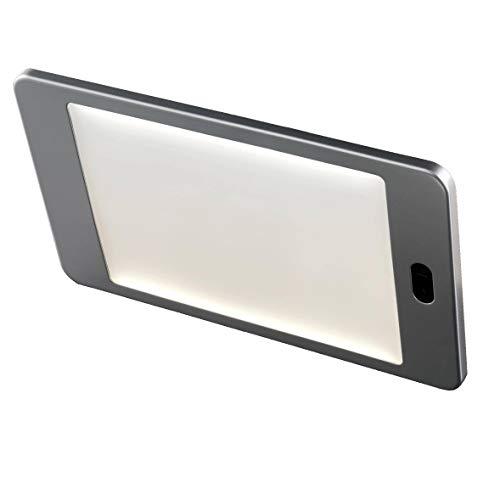 STIXIR S01 - Panel LED ultrafino para interior de casa Aluminio con acabado anodizado. Encendido/apagado con sensor infrarrojo. Luz natural (4500 K). Driver de 10 W incluido.