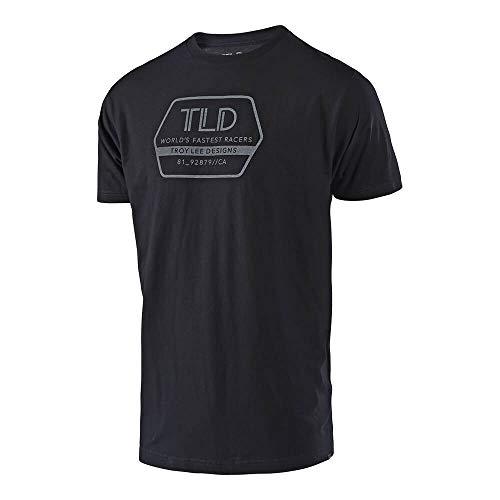 Troy Lee Designs 701008294 Factory Tee Black Lg