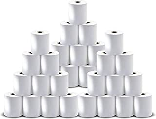 BIS Office Thermal Paper Roll for All ATM, Debit/Credit Swipe Card, Billing, Coupons and Other Printer Machines, Size: 55 mm X 50 mtrs, 2 inch x 164 ft, Pack of 35 Rolls
