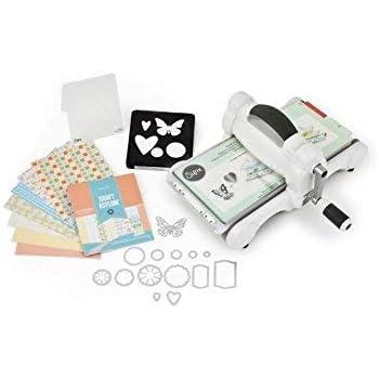 Sizzix- Máquina Big Shot Kit de inicio para cortes y accesorios: Amazon.es: Hogar