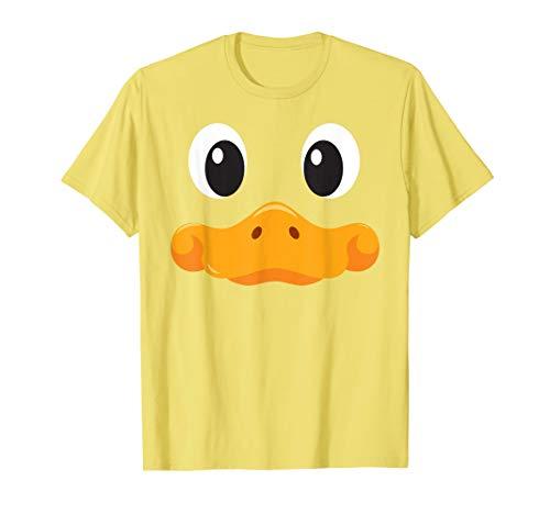 Enten Gesicht T Shirt Halloween Kostüm Idee