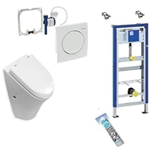 Geberit DuofixBasic Urinal Universal, Komplett-Set, Roca Nexo Urinal