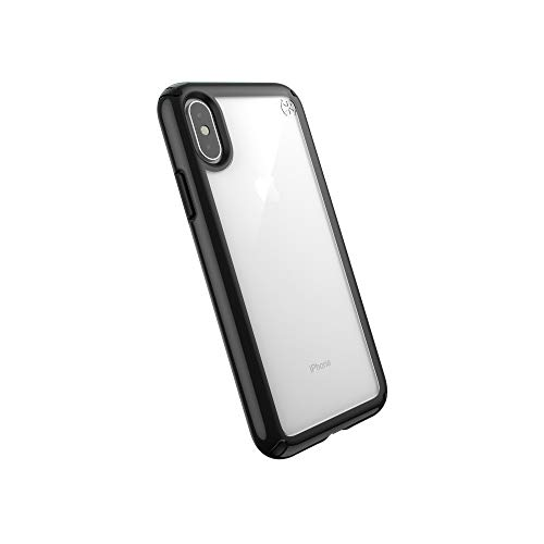 Speck Products Presidio Show iPhone Xs/iPhone X Case, Clear/Black