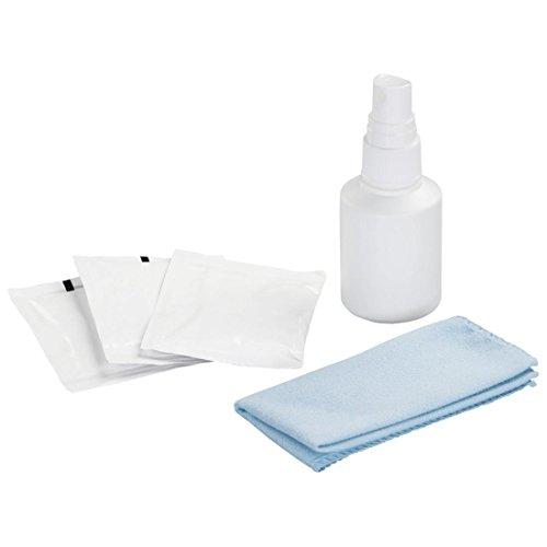 Hama Reinigungs-Set für VR-Brillen (50 ml Reinigungsflüssigkeit, Mikrofaser-Tuch, 8 Einweg-Reinigungstücher; Set zur Reinigung und Pflege von Virtual Reality Brillen) Cleaning Kit