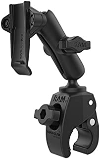 $57 » RAM Mounts Tough-Claw Small Clamp Mount with Garmin Spine Clip Holder RAM-B-400-GA76U with Medium Arm for Motorcycle, ATV/...