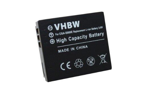 vhbw Li-Ion Akku 750mAh (3.6V) für Kamera, Video, Camcorder Fujifilm FinePix F20, F40fd, F45fd, F47fd wie NP-70.