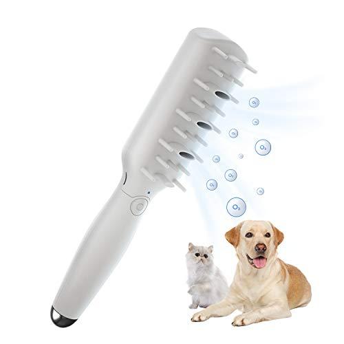 Hundebürste zum Entfernen von Verfilzungen und Knoten, Haustierpflege-Werkzeug mit Ozon,...