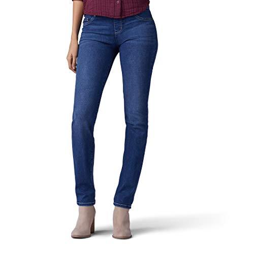 LEE Women's Sculpting Fit Slim Leg Pull On Jean,...