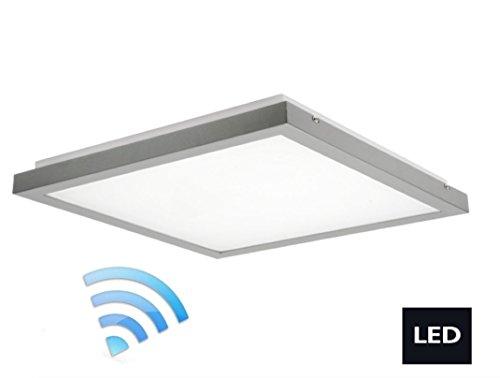 LED plafondlamp 3500 lumen lamp met sensor bewegingsmelder grijs 24641