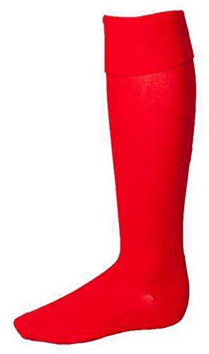 Rucanor Chaussettes de Football Unisexe Rouge Taille 30/34