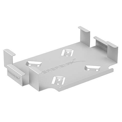 Sabrent Suporte VESA para Mac Mini/Montagem na parede/Suporte sob a mesa (BK-MACM), Prata