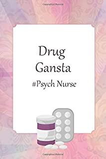 Lined Notebook: Journal With Quote - Psych Nurse Gifts (Gag Gifts)