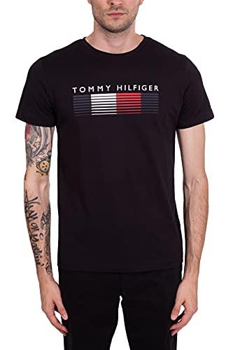 Tommy Hilfiger Herren T-Shirt schwarz (15) XXL
