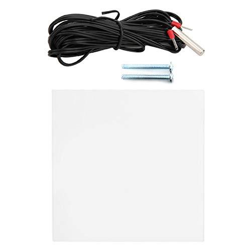 Cerlingwee Controlador de Temperatura Termostato programable Digital Termostatos de Suelo Radiante Termostato de Pantalla a Color Oficina para el hogar(WiFi)