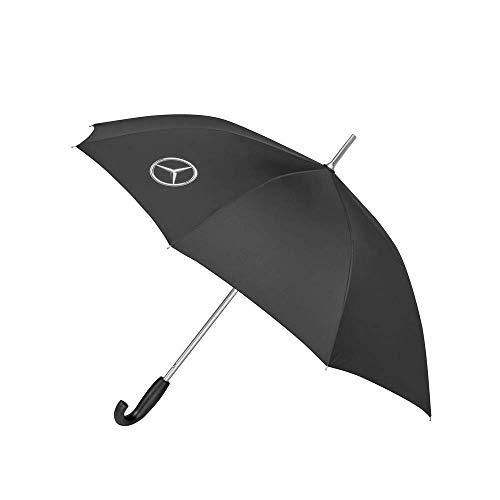 Mercedes Benz Original Regenschirm Stockschirm Schwarz Durchmesser 105cm Automatik