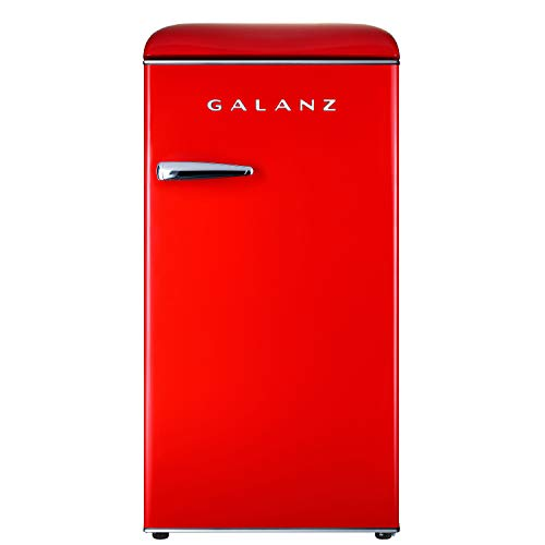 Compact Refrigerator Red