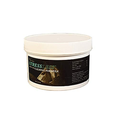 StressLess Hot Horse Supplement - 60 Day Supply - Promotes Calm & Focus - All Natural & Show Safe