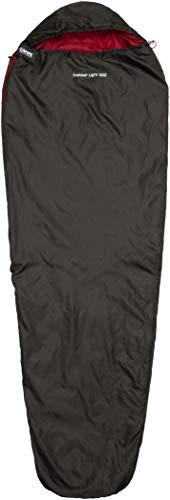 CAMPZ Trekker Light 300 Schlafsack anthrazit/rot Ausführung Right Zipper 2020 Quechua Schlafsack
