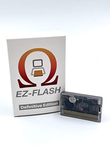 MCMConcepts EZ-Flash Omega Definitive Edition Version Game Card for GBA GBASP DS NDS NDSL IDSL Micro SD Flashcard Cartridge
