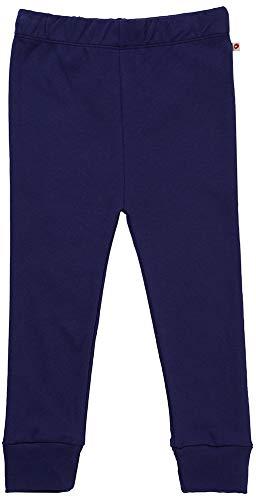 Piccalilly Legging Uni Bébé + Enfant Doux + Bio Bleu Marine - Bleu - 6 ans