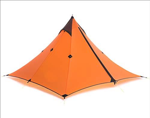 Minaret Tente Ultra-LéGer De Plein Air à Pied Alpinisme Couche Double ImperméAble Camping Tente