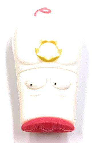 H-Customs - Chiavetta USB 3.0 a forma di maialino portafortuna, 64 GB, colore: Bianco