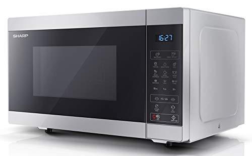 Sharp YC-MG51U-S 25L 900 W Digital Touch Control Microwave with 1000 W...
