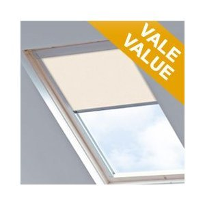 blackout roof skylight blind for velux ggu cream p08 weather. Black Bedroom Furniture Sets. Home Design Ideas