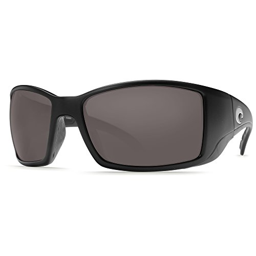 Costa Del Mar Blackfin Polarized Sunglasses, Black, Gray 580Plastic