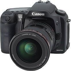 Canon EOS 10D - Cámara Réflex Digital 6.3 MP (Cuerpo)