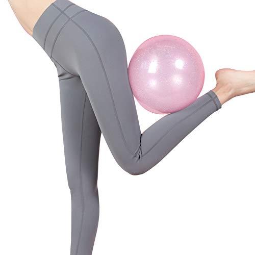 FCFLXJ Pelota de Gimnasio, Pelota de Yoga antirrápida/Antideslizante, Pelota de Equilibrio para Fitness Pilates Yoga Gym, Pelota de Ejercicio pequeña de 23 cm para Yoga