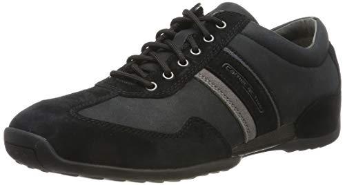 camel active Herren Space 24 Sneaker, Schwarz (Black/Dk.Grey 38), 47 EU