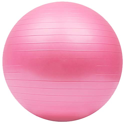 Wj Pelota de Ejercicio Pelota de Yoga Pelota de gimna Pelota para Ejercicios de Parto, 55cm 65cm 75cm Pelota de Yoga, Pelota de Gimnasia Anti-explosión con Bomba, para Yoga/Pilates/Fitness/Embarazo