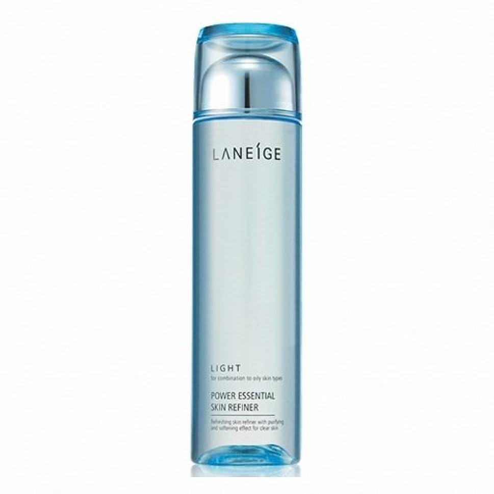 温かいお願いします皿LANEIGE Power Essential Skin Refiner (Light) 200ml [Korean Import]