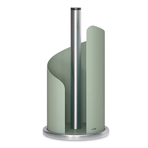 stardis Küchenrollenhalter, Edelstahl / matt beschichtet Ø 15 cm Rollenhalter Agavengrün
