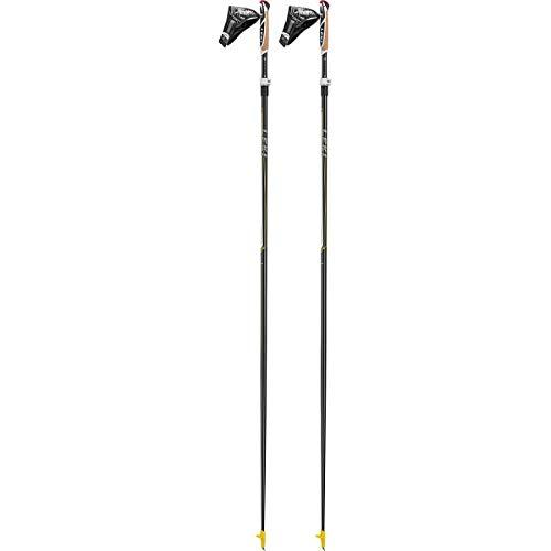 LEKI Unisex-Adult Sports Skistock, Weiss-gelb-Silber, 165cm