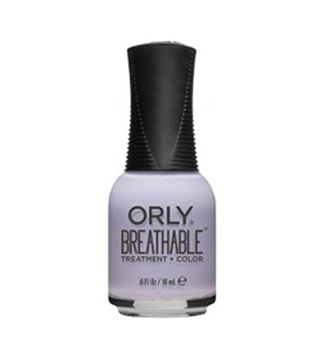 アリ真剣に開いたORLY Breathable Lacquer - Treatment+Color - Patience and Peace - 18 ml/0.6 oz