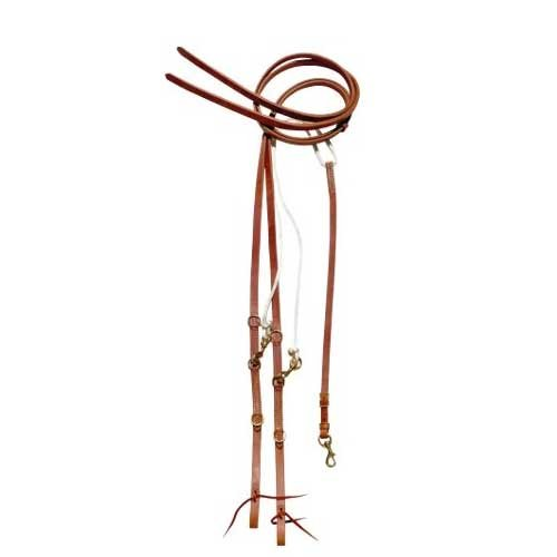 Horse Amish Western Made in USA Leather German Martingale 975H845
