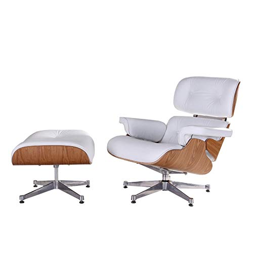 ACD Sillón de salón de estudio, sillón individual, sillón reclinable giratorio, sillón, sillón reclinable, fácil sofá
