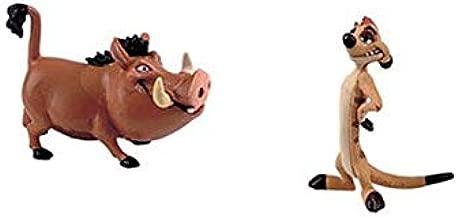 Bullyland Timon 12533 and Pumbaa 12534 Disney Lion King Playset ...