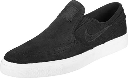 Nike SB 'Zoom Stefan Janoski Slip On' Black/Light Bone/White. 11UK