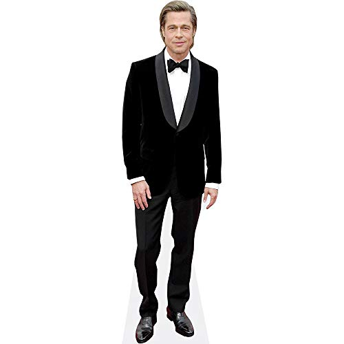 Celebrity Cutouts Brad Pitt (Black Suit) Pappaufsteller Mini