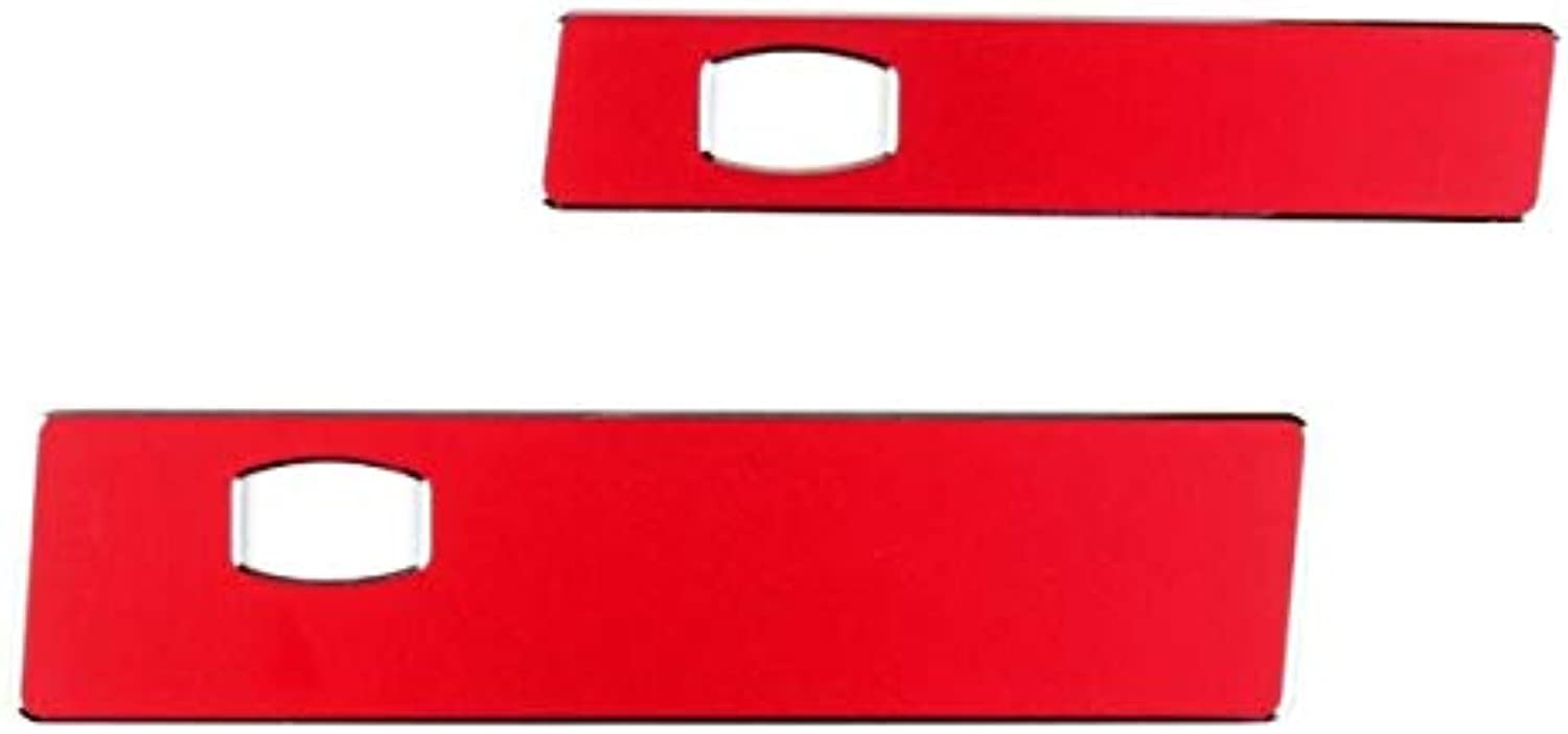 Car Car CoPilot Water Cup Holder Panel Cover Trim for BMW 5 Series E60 20062010 Aluminium Alloy Car Styling Covers  (color Name  Red)