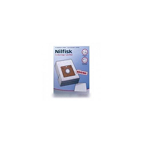 NILFISK ADVANCE - SACS ASPIRATEUR (x5) + FILTRE POUR ASPIRATEUR NILFISK ADVANCE