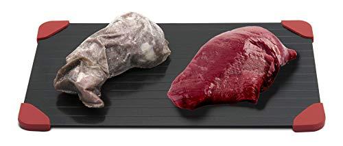 My Home Auftau-Platte ca. 35x20 cm, Defrost-Platte für Fleisch, Fisch, Gemüse.